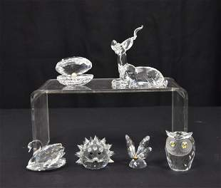 SWAROVSKI CRYSTAL FIGURINE LOT