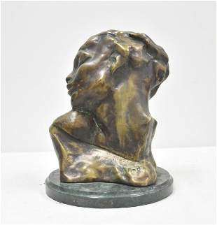 AFTER AUGUSTE RODIN (FRENCH, 1840-1917) BRONZE