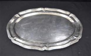 SANBORN , MEXICO STERLING SILVER PLATTER