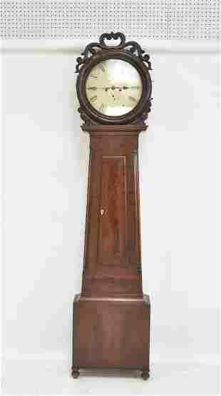 ANTIQUE SCOTTISH LONG CASE GRANDFATHER CLOCK