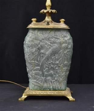 VINTAGE PHEONIX CONSOLIDATED VASE LAMP