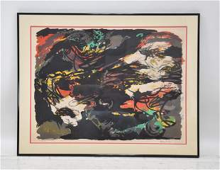 KAREL APPEL (DUTCH, 1921-2006) LITHOGRAPH