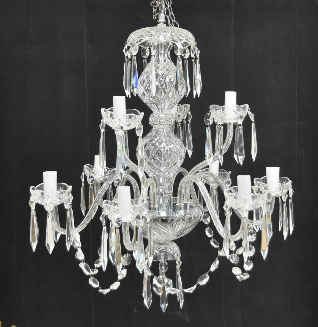 """WATERFORD CRYSTAL """"CRANMORE"""" CHANDELIER"""