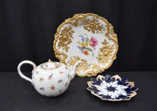 MEISSEN PORCELAIN LOT