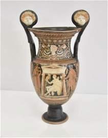 LARGE ANCIENT GREEK KRATER VASE