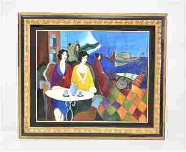 ITZCHAK TARKAY (ISRAEL, 1935-2012) OIL ON CANVAS
