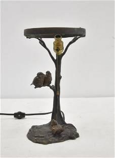 AUSTRIAN ? BRONZE ANIMALIER LAMP BASE
