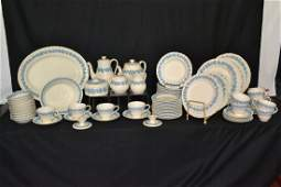 341 96pc WEDGWOOD QUEENSWARE DINNER SET WITH