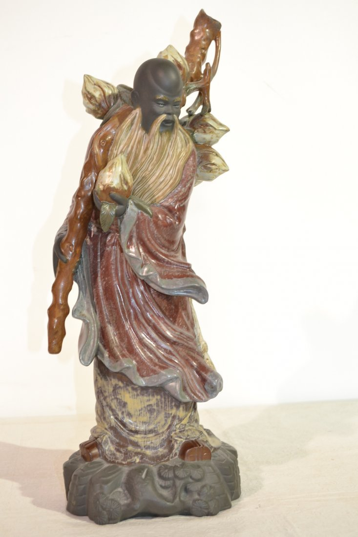 269: LARGE LLADRO ORIENTAL WISE MAN WITH CLOQUE