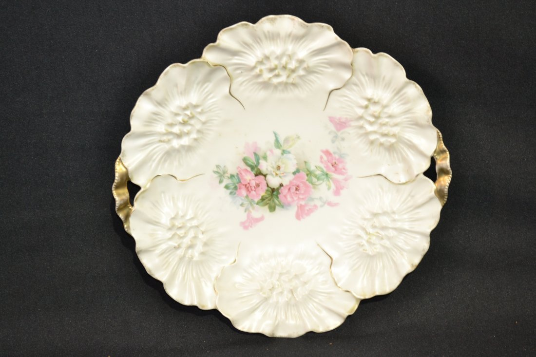 """206: RS PRUSSIA HANDLED CAKE DISH - 11"""""""