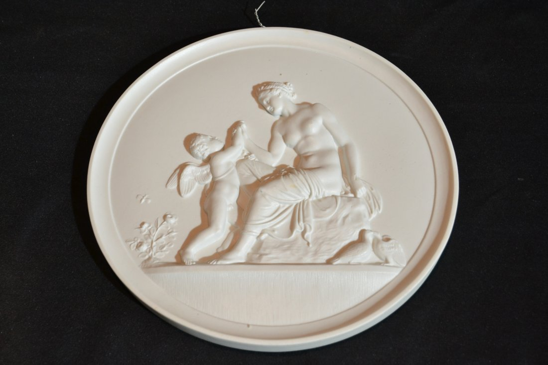 BING & GRONDAHL MOLDED RELIEF NEO CLASSICAL PLAQUE