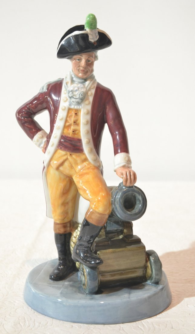 "ROYAL DOULTON ""OFFICER OF THE LINE"" - 9 1/2"" TALL"