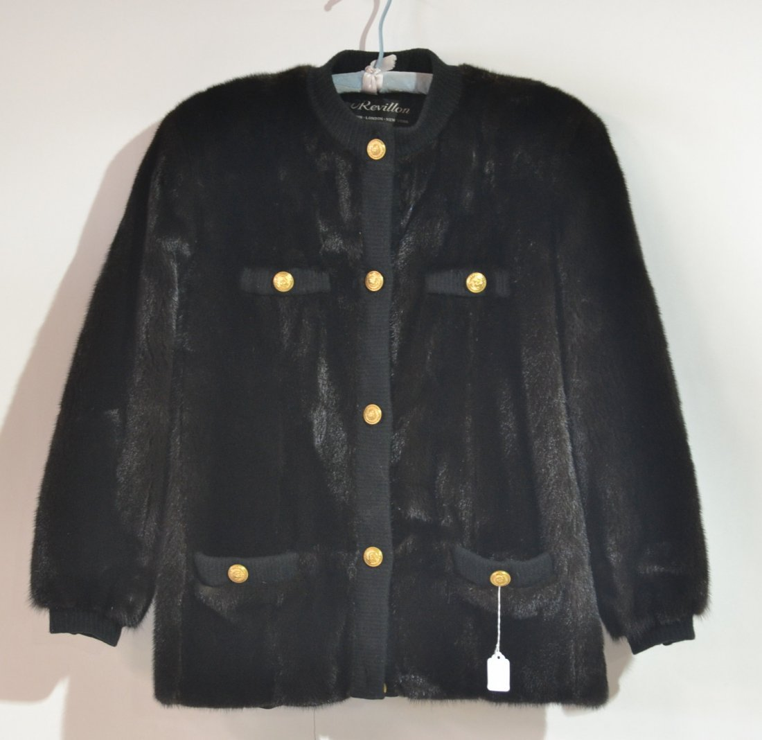 ... REVILLON MINK JACKET SOLD BY SAKS FIFTH AVENUE