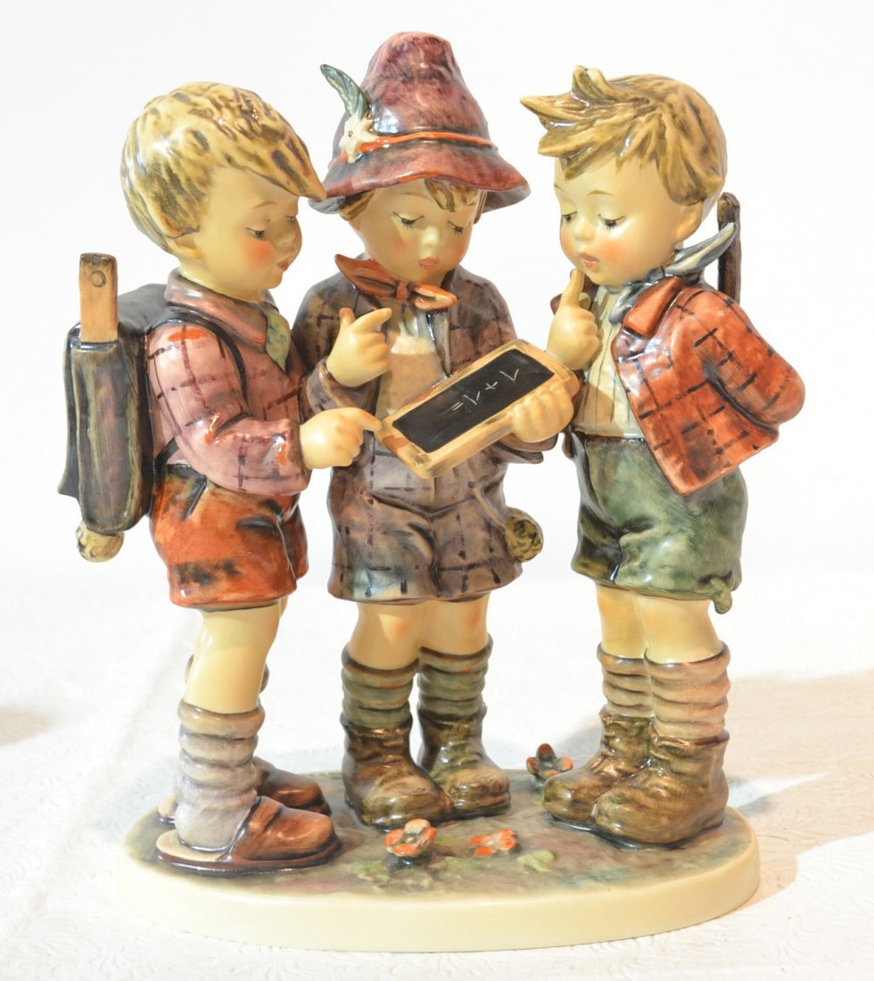 "HUMMEL SCHOOL BOYS GROUPING - 10 1/4"" ;TM-5 ,#348"