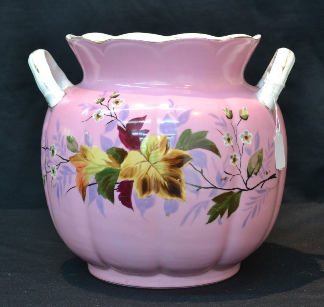MARY GUTHERZ CARLSBAD HAND PAINTED TWIN HANDLE