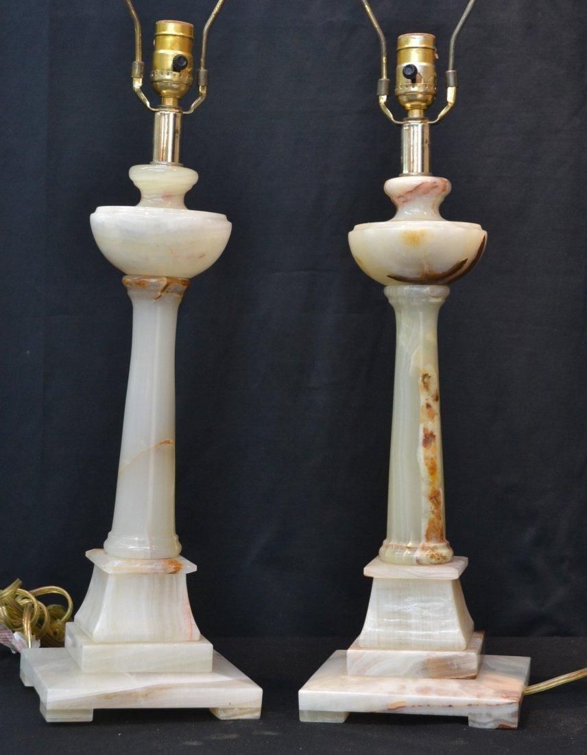 (Pr) ONYX COLUMN LAMPS