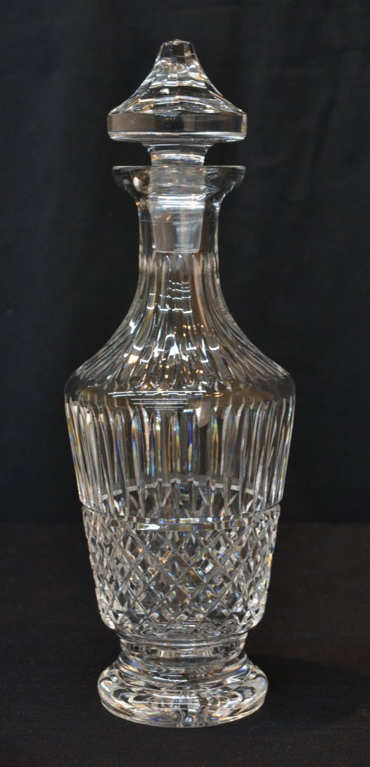 """WATERFORD CRYSTAL DECANTER - 13"""" TALL"""