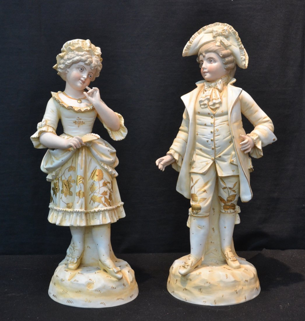 (Pr) ROYAL RUDOLSTADT FIGURES OF VICTORIAN