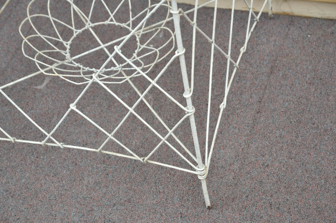 """3-TIER FRENCH WIRE PLANT STAND - 36"""" x 25"""" x 42"""" - 9"""
