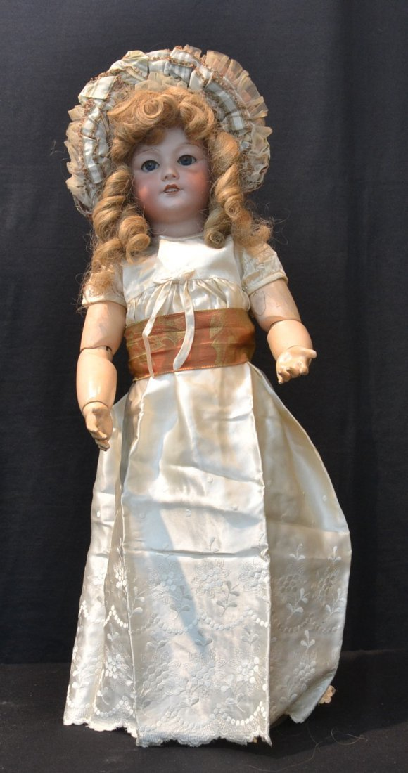 SFBJ 301-19 FRANCE BISQUE HEAD DOLL WITH
