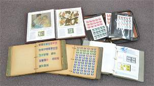 ASSORTED STAMP BOOKS INCLUDING (2) AMERICAN ,