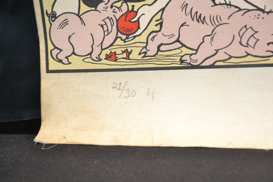 PENCIL SIGNED AL CAPP LIL ABNER COMIC STRIP - 7