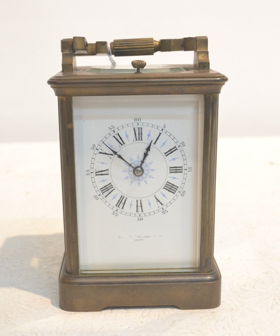 FRENCH BRONZE REPEATER CARRIAGE CLOCK