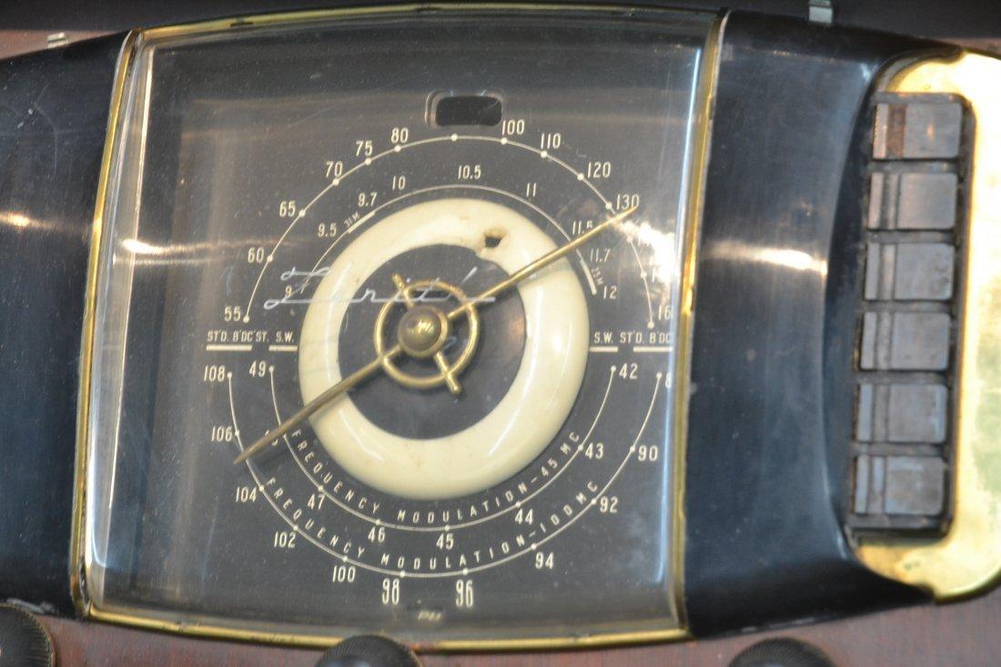 VINTAGE ZENITH RADIO PHONOGRAPH CONSOLE RADIO - 5