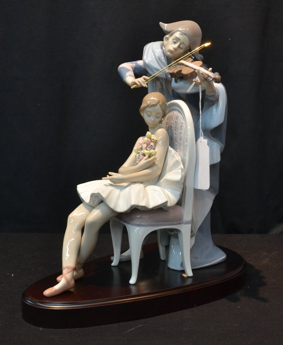 """LARGE LIMITED EDITION LLADRO """"JESTER'S SERENADE"""""""