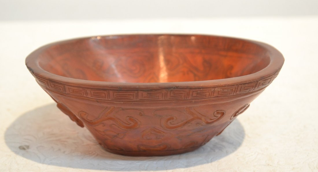 "CARVED LIBATION CUP - 5 1/2"" x 4 1/4"" x 2"""