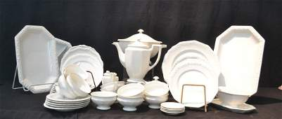 ROSENTHAL WHITE CHINA DINNER SERVICE CONSISTING