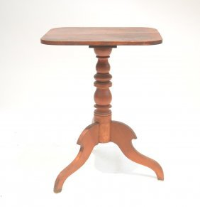 Early American Pedestal Table