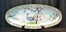 Large Royal Worcester Pheasant Platter