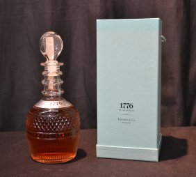 1776 Seagrams Decanter Made For Tiffany & Co.