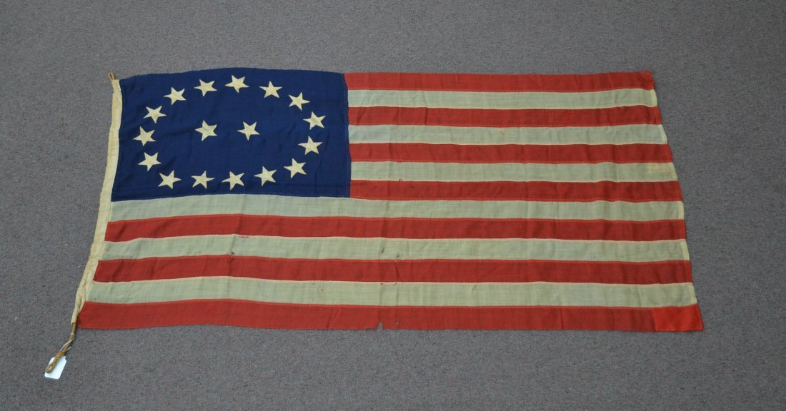 17 STAR AMERICAN FLAG ; NUMBERED A20691