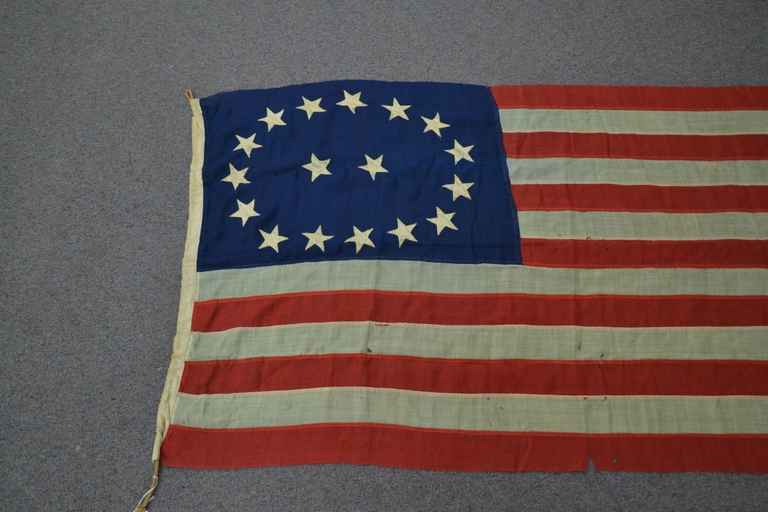 17 STAR AMERICAN FLAG ; NUMBERED A20691 - 3
