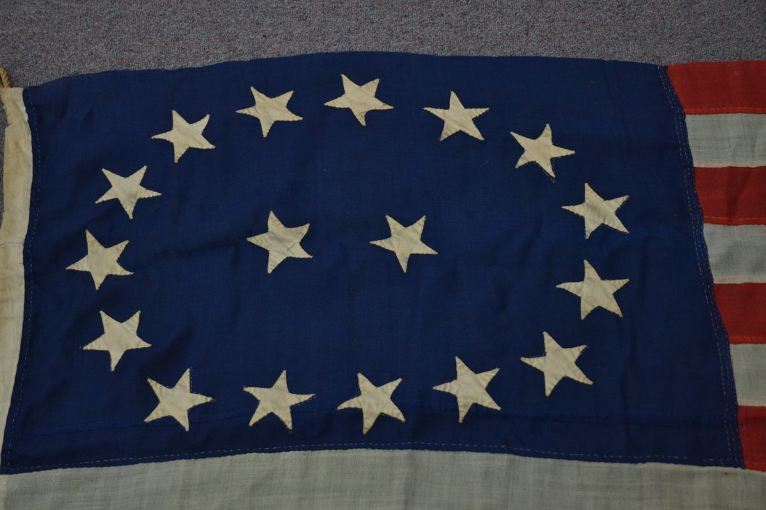 17 STAR AMERICAN FLAG ; NUMBERED A20691 - 4