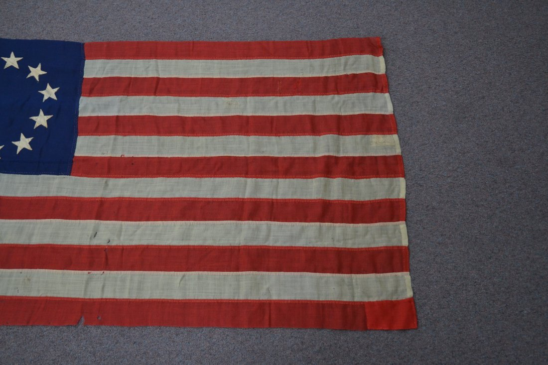 17 STAR AMERICAN FLAG ; NUMBERED A20691 - 5