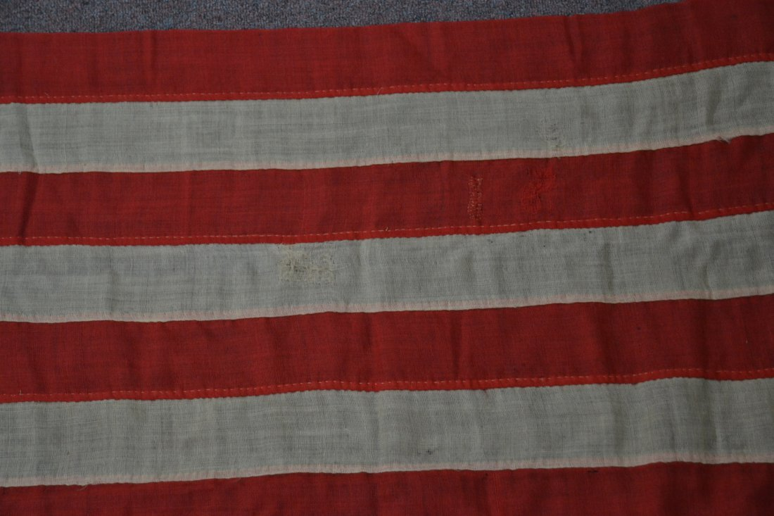 17 STAR AMERICAN FLAG ; NUMBERED A20691 - 6