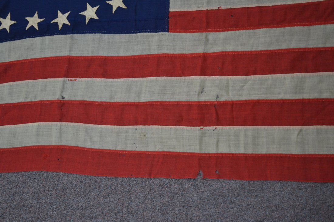 17 STAR AMERICAN FLAG ; NUMBERED A20691 - 7