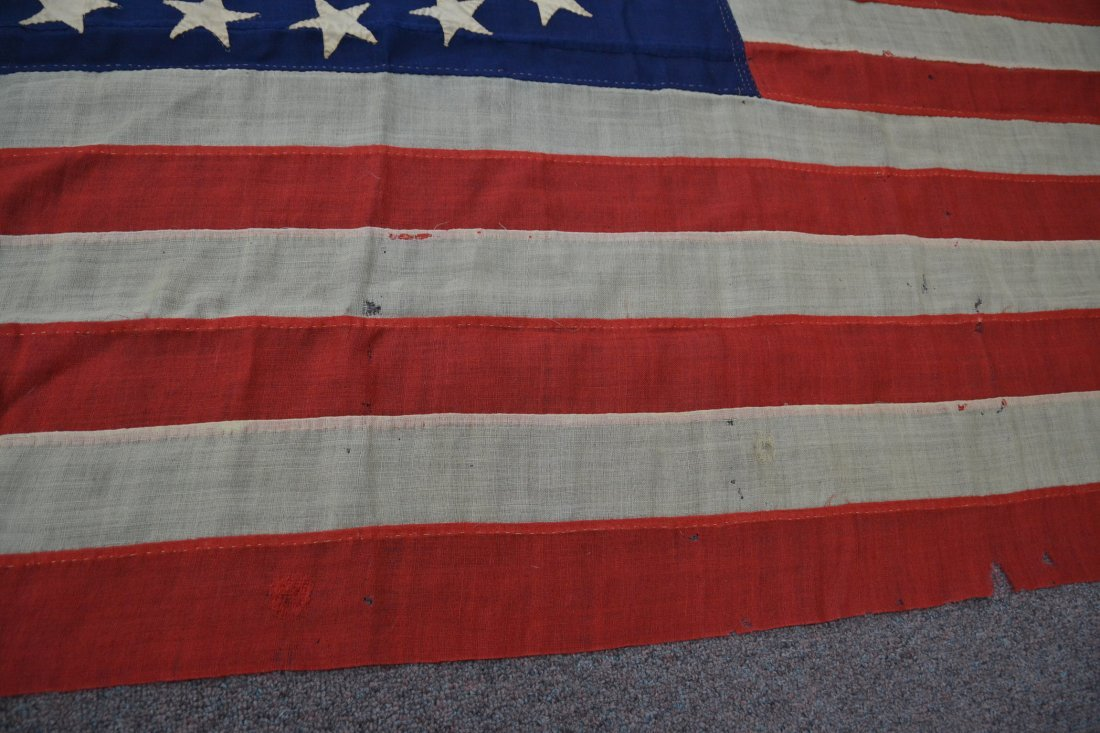 17 STAR AMERICAN FLAG ; NUMBERED A20691 - 9