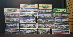 (22) Hess Trucks In Boxes To Include 1976, 1980