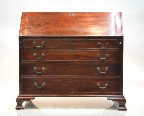 19thc Mahogany Secretary Desk
