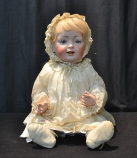 German Jdk - 211 Bisque Head Character Baby Doll