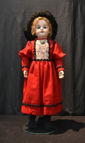German Am - 1894 ; Mold 8 Bisque Head Doll