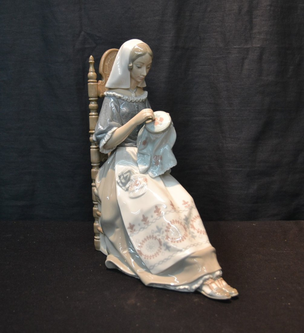 """LLADRO """"EMBROIDERY LADY"""",  # 4865 BY"""