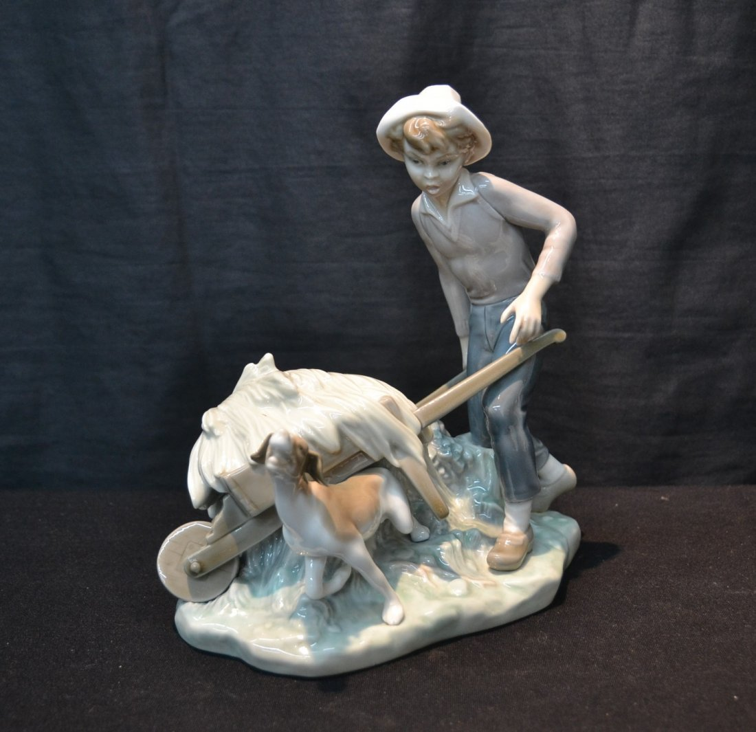 """LLADRO """"ORTOLAN IN TROUBLE"""" , # 4852 BY"""