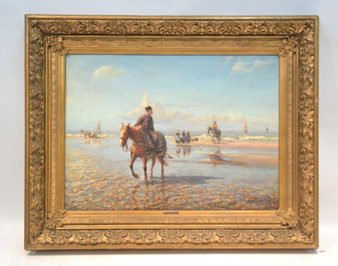 DANIEL NOTEBOOM (DUTCH, 1877-1943) OIL ON CANVAS