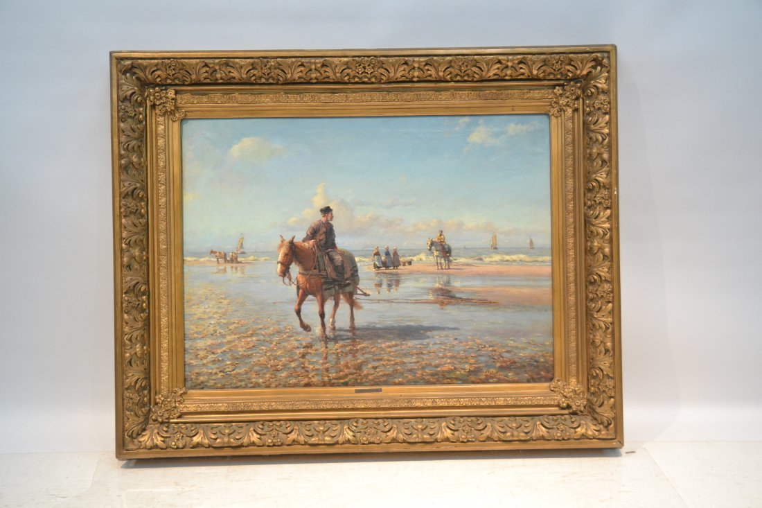 DANIEL NOTEBOOM (DUTCH, 1877-1943) OIL ON CANVAS - 2