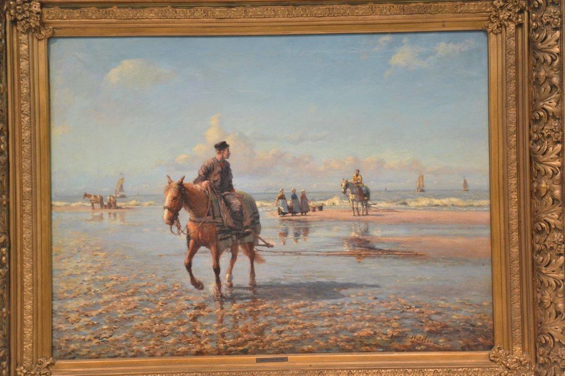 DANIEL NOTEBOOM (DUTCH, 1877-1943) OIL ON CANVAS - 3